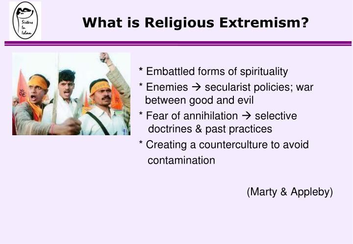 What is Religious Extremism?