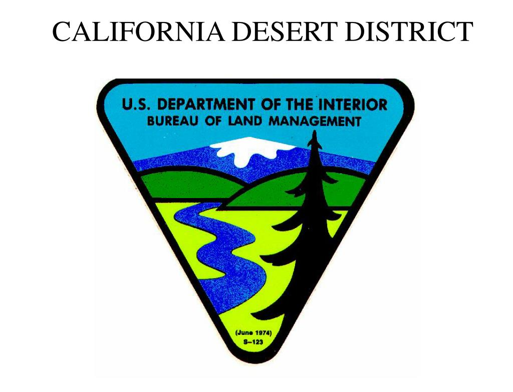 california desert district l.