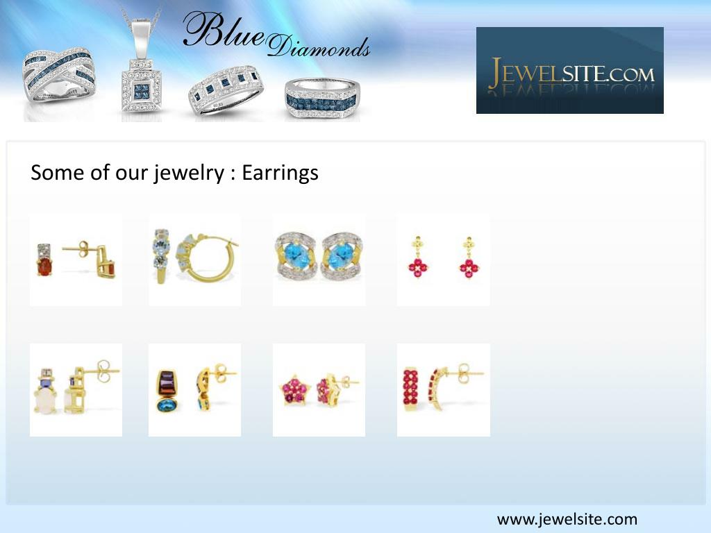 Some of our jewelry : Earrings