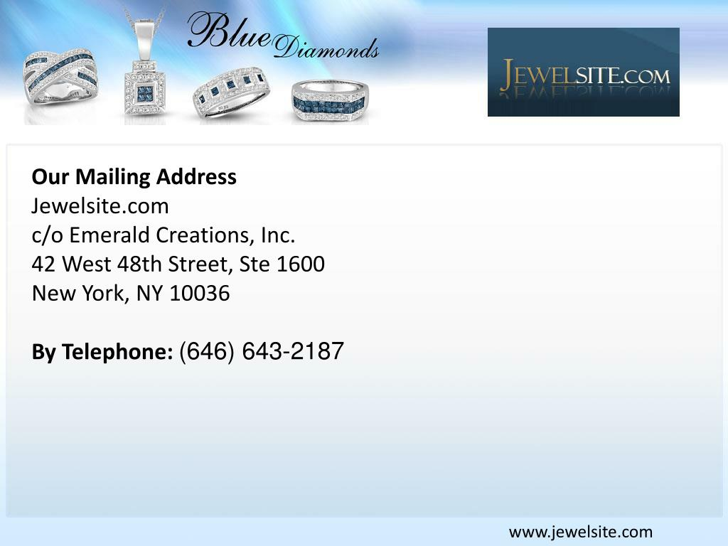 Our Mailing Address