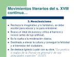 movimientos literarios del s xviii continua10