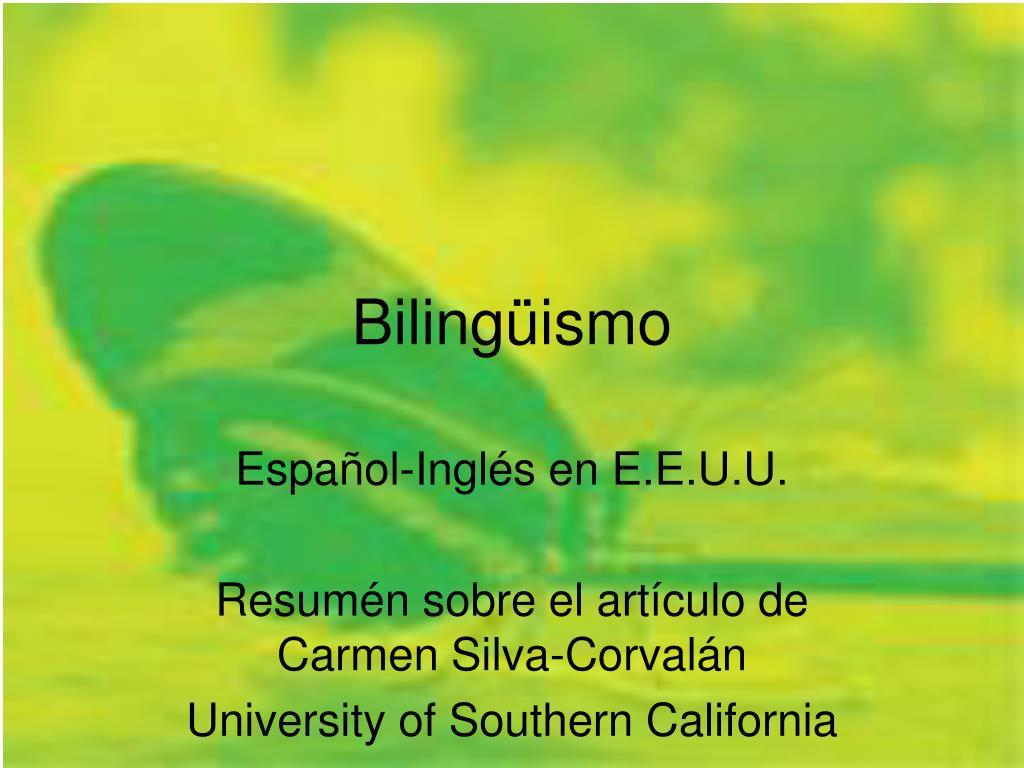 biling ismo