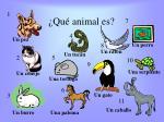 qu animal es