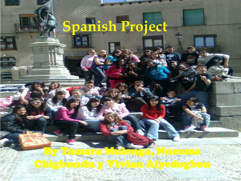 spanish project l.
