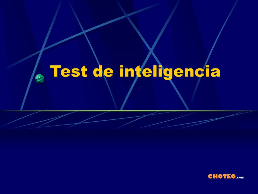 test de inteligencia l.