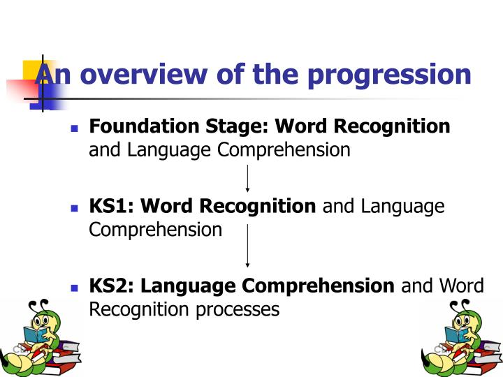 An overview of the progression