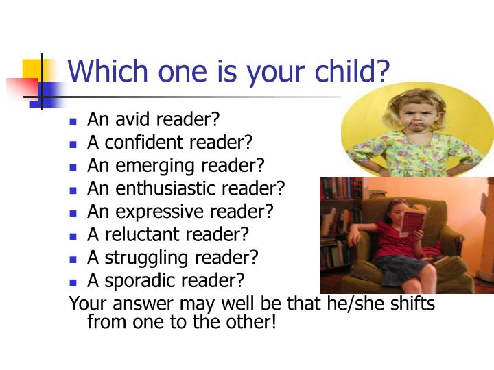 Which one is your child?