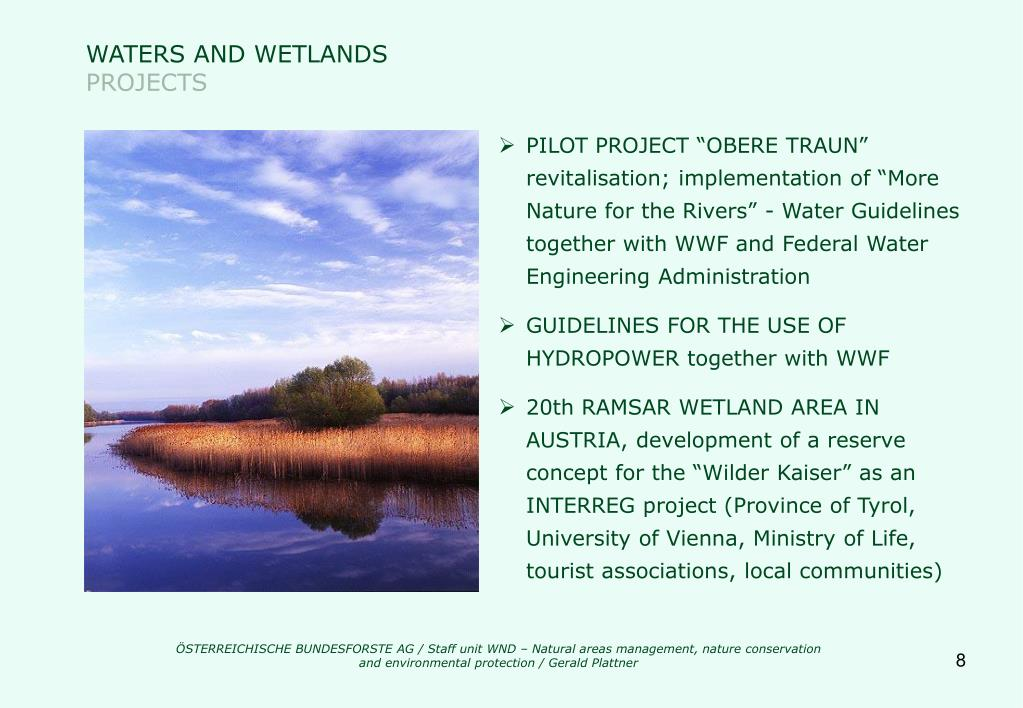 WATERS AND WETLANDS