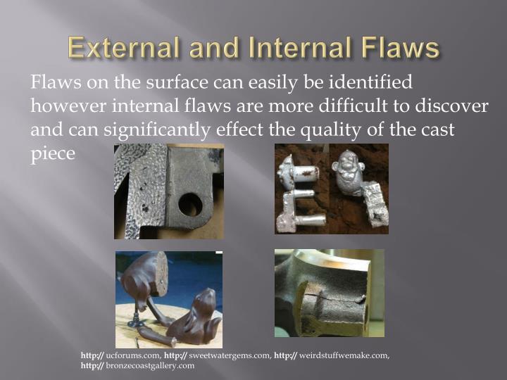 External and Internal Flaws