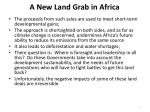 a new land grab in africa5