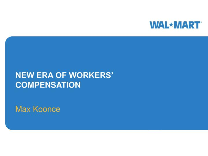 new era of workers compensation n.