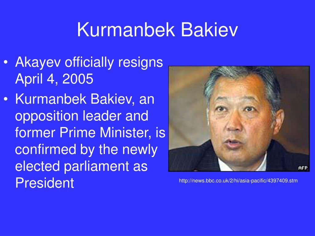 Kurmanbek Bakiev