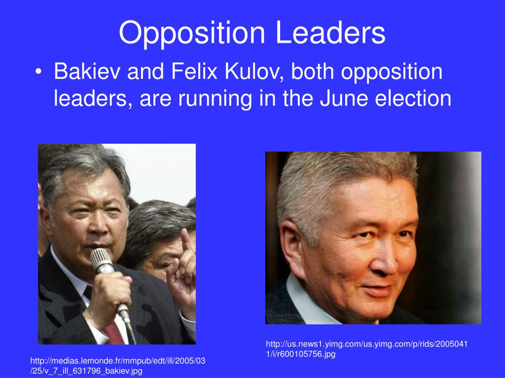 Opposition Leaders