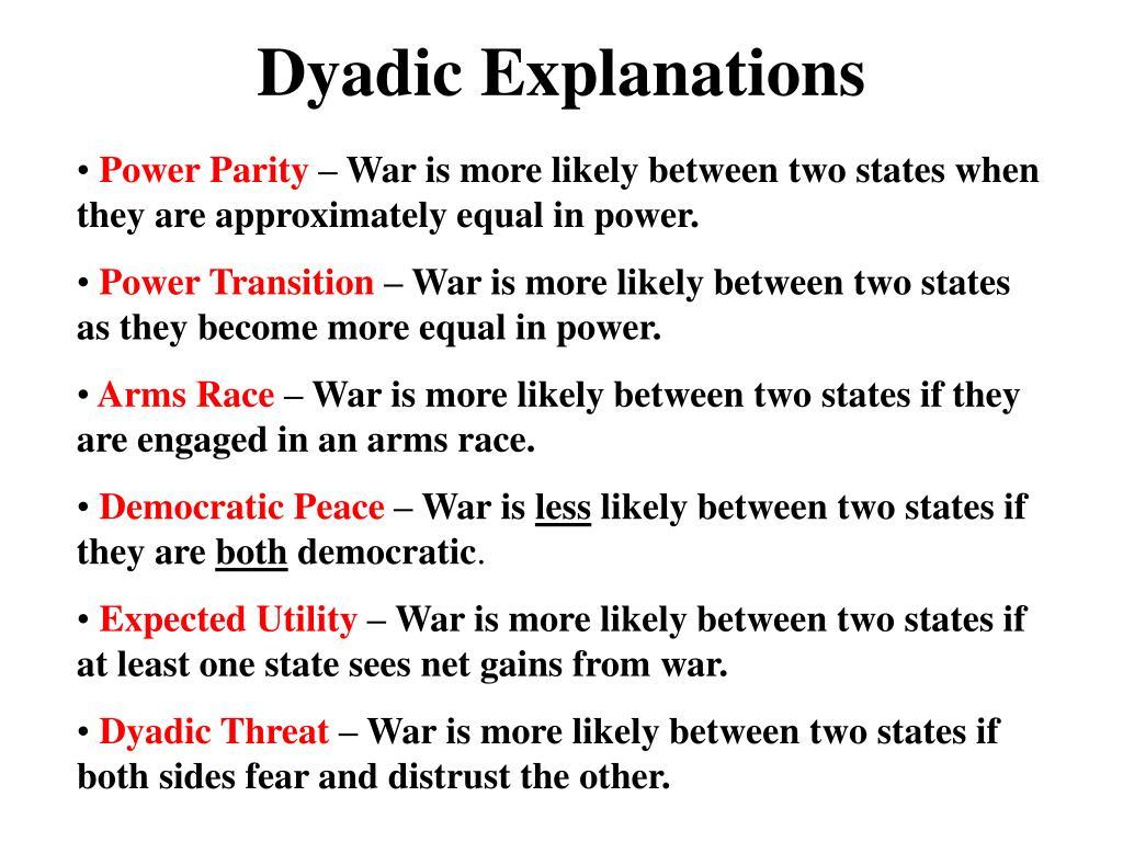 Dyadic Explanations