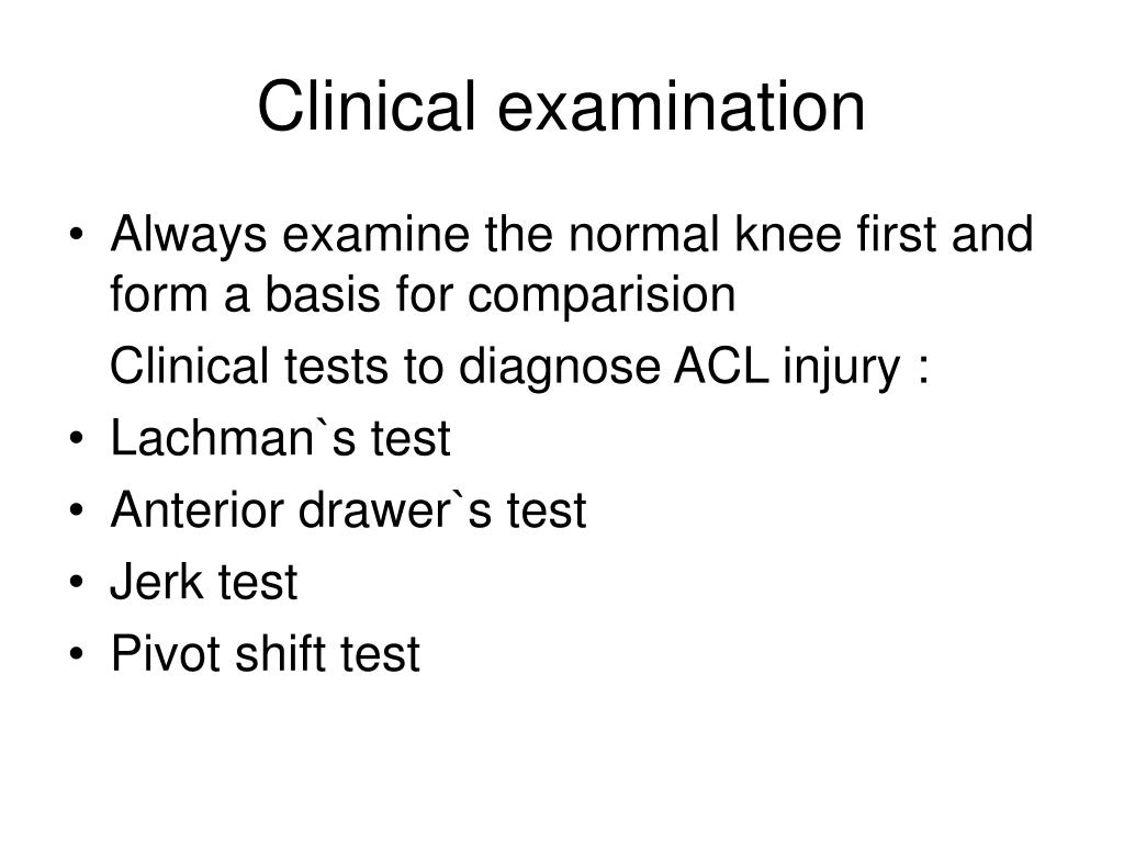 PPT - Injuries of the knee PowerPoint Presentation - ID:1058450