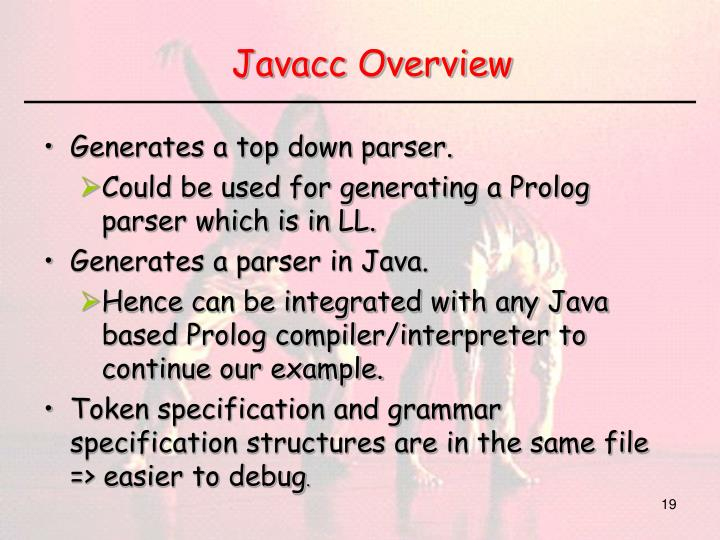 Javacc Overview