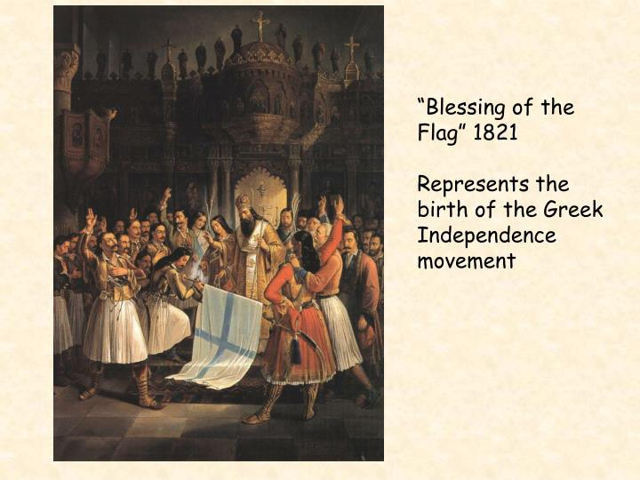 """Blessing of the Flag"" 1821"