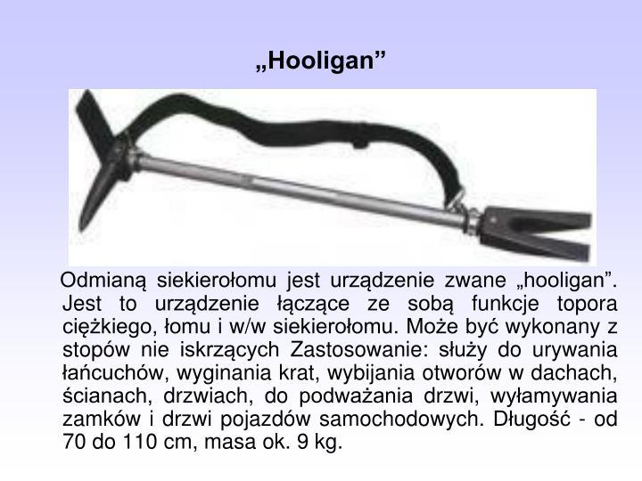 """Hooligan"""
