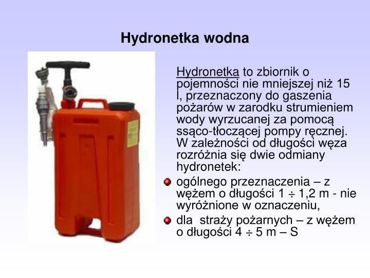 Hydronetka