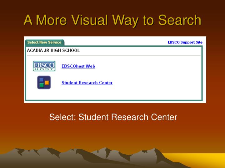 A More Visual Way to Search