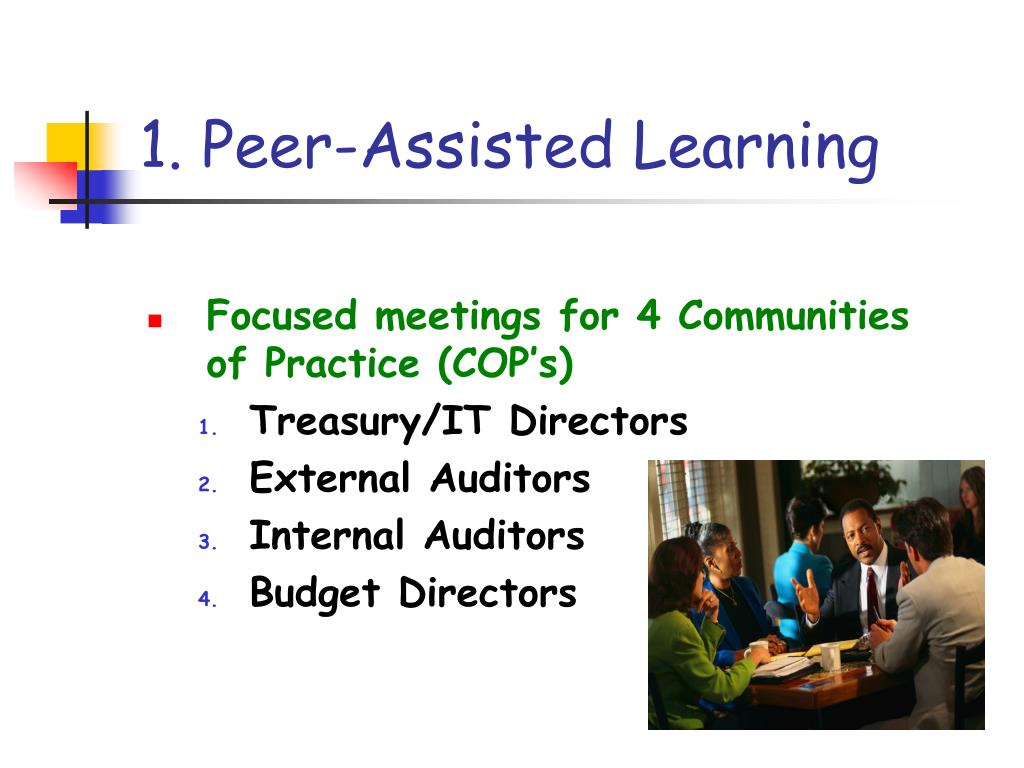 1. Peer-Assisted Learning