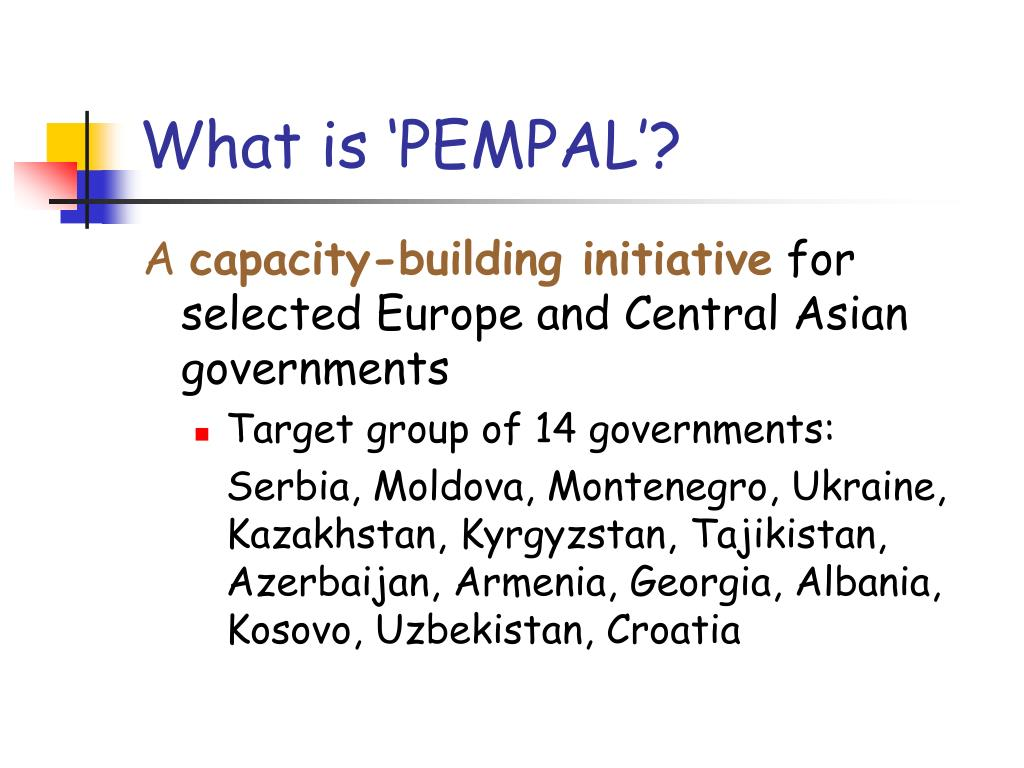 What is 'PEMPAL'?