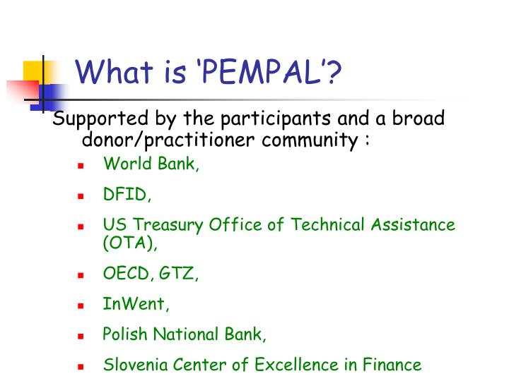 What is pempal3