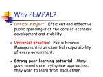 why pempal