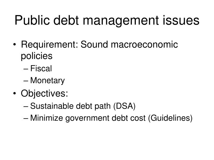 "sustainability of debt finance management G20 sustainable finance study group the objective of the g20 green finance study group (gfsg) is to ""identify institutional and market barriers to green finance, and based on country experiences, develop options on how to enhance the ability of the financial system to mobilize private capital for green investment."
