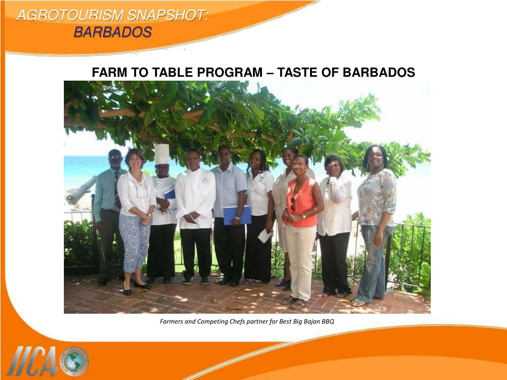 Farmers and Competing Chefs partner for Best Big Bajan BBQ