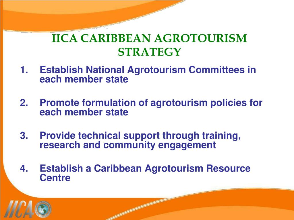 Establish National Agrotourism Committees in each member state