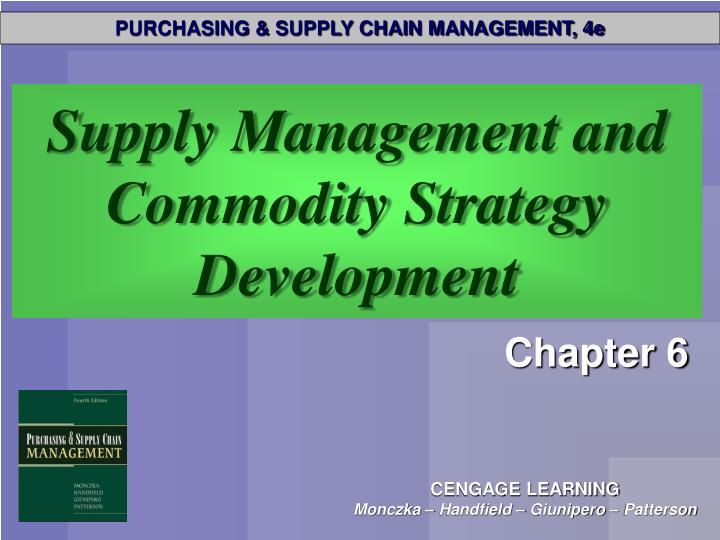PPT - Supply Management and Commodity Strategy Development ...