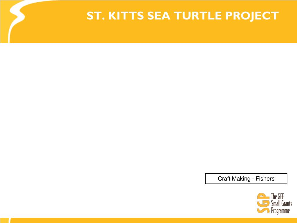 ST. KITTS SEA TURTLE PROJECT
