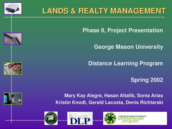 lands realty management n.
