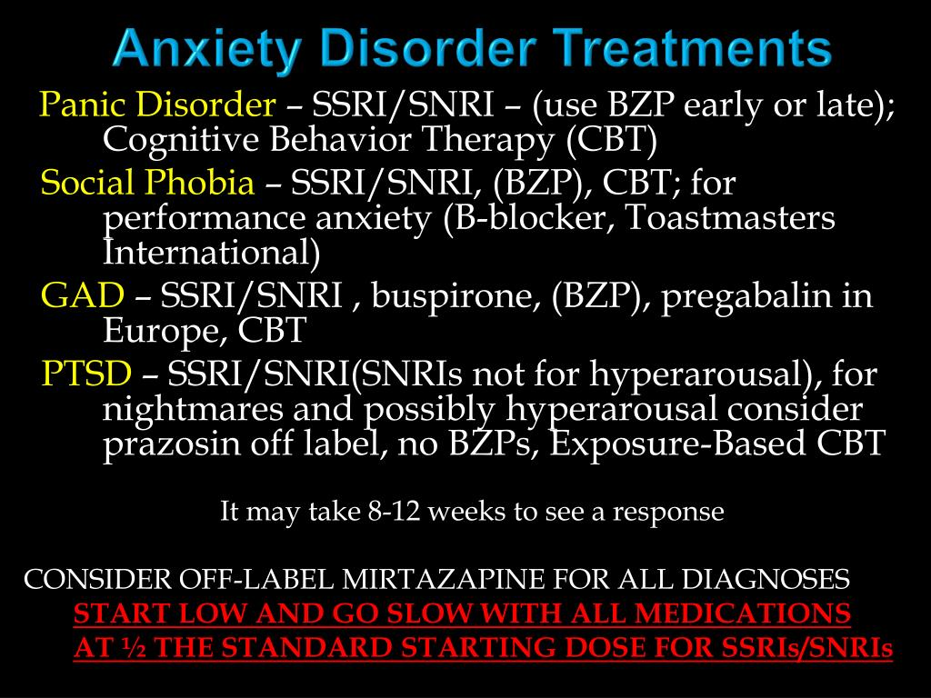 PPT - Benzodiazepines, Other Anxiolytic Medications, and