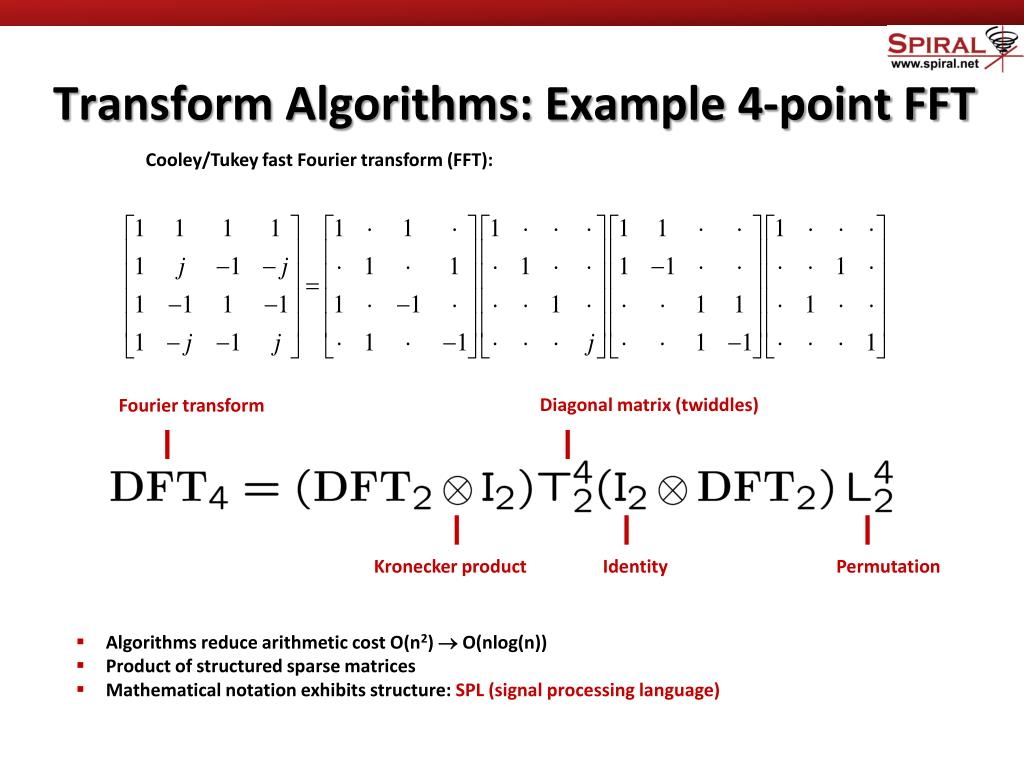 PPT - Automatic Generation of Vectorized Fast Fourier Transform