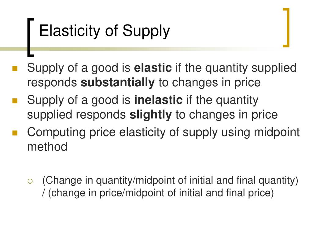Ppt Elasticity And Its Application Powerpoint Presentation Free