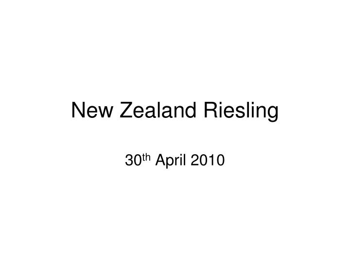 new zealand riesling n.