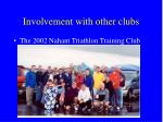 involvement with other clubs