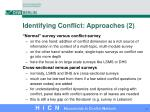 identifying conflict approaches 2
