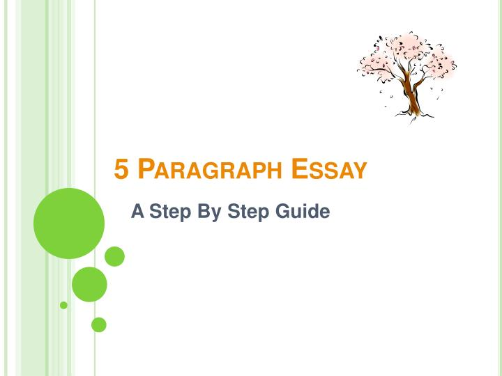 PPT - 5 Paragraph Essay PowerPoint Presentation, free download - ID:1059548