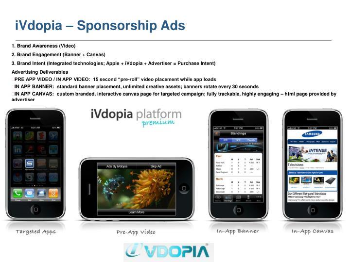 iVdopia – Sponsorship Ads