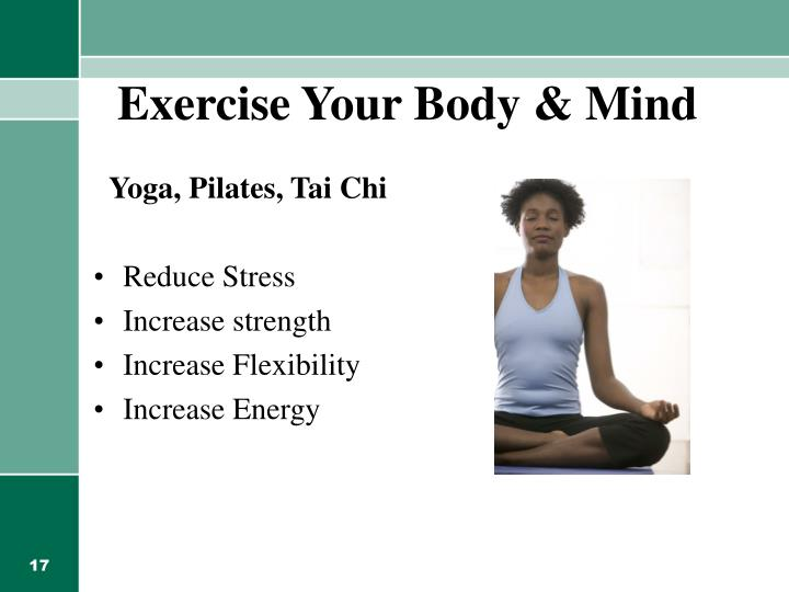 Exercise Your Body & Mind