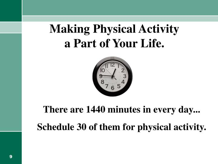 Making Physical Activity