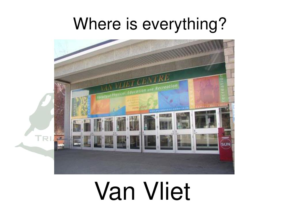 Where is everything?