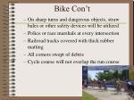 bike con t