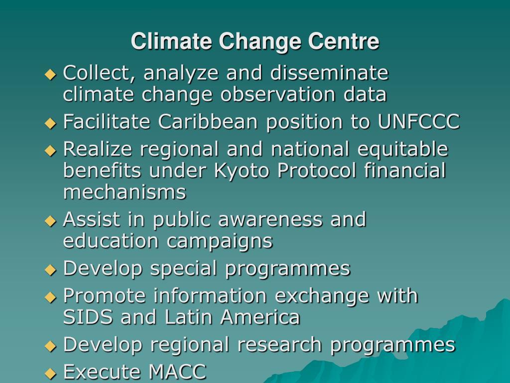 Climate Change Centre
