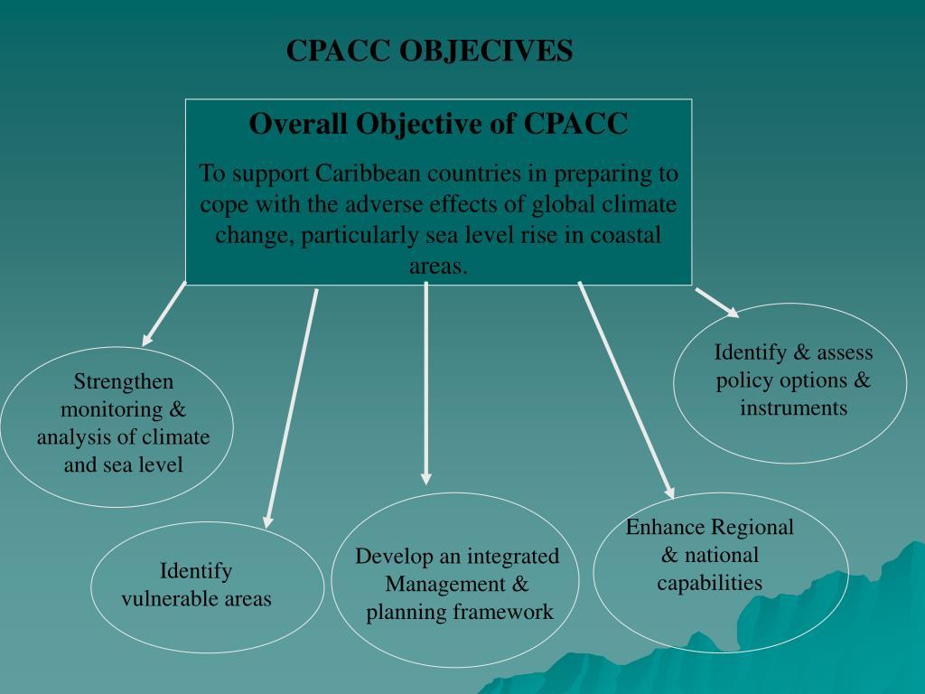 CPACC OBJECIVES