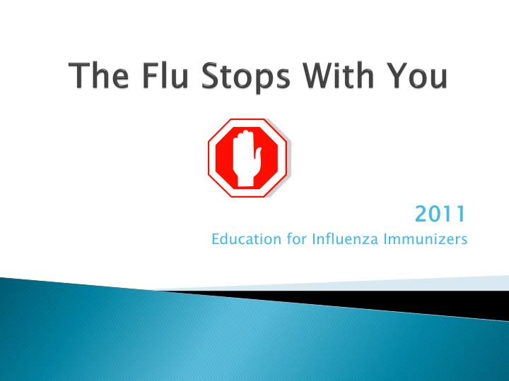 the flu stops with you n.