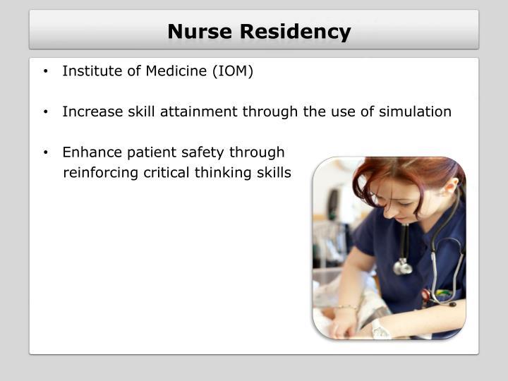 Nurse residency